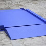 Весы низкопрофильные платформенные с пандусами ВСП4-150Н9 1250х1250 фото