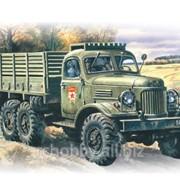 Модель ICM 1/72 Зил-157, Армейский грузовой автомобиль фото