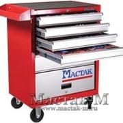 MACTAK Комплект инструмента 299 пр., в красной тележке Пожизненная гарантия, предоставляются все необходимые сертификаты фото