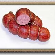 Колбасы копчено - вареные фото