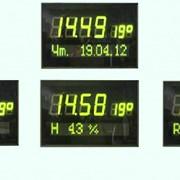 Часы-календарь офисные настенные электронные ЧКЭН-03 фото