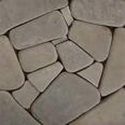 Камень плоский природный (песчаник) фото