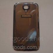 Крышка задняя черная для Samsung Galaxy S4 i9500 i9502 i9505 i9506 i9508 i959 4606 фото
