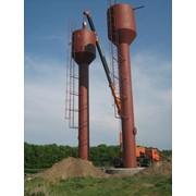 Водонапорная башня Рожновского, объем 50 м.куб фото