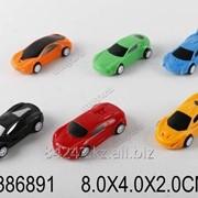 Автотранспортная игрушка Машина инерционная 8см, пак. 886-4A фото