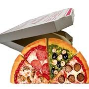 Картонные коробки для пиццы готовые фото