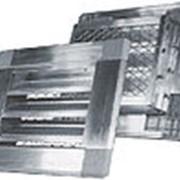 Решетка алюминиевая РВИ 800х800 фото