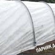 Парник 6 м, в комплекте дуги каркаса с пришитым укрывным материалом+ ножки + клипсы. фото