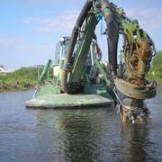 Очистка водоемов миниземснарядом в Киеве и по Украине фото