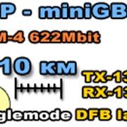 SFP трансивер STM-4, Singlemode 1310 нм, LX-10km фото