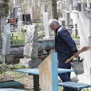 Комплексный уход за могилой в течение месяца фото