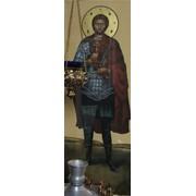 Написание Храмовых икон. Святой мученик Иоанн Воин. фото