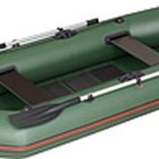 Надувная гребная лодка Kolibri К-240 серии Стандарт + слань-коврик фото