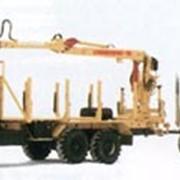 Сортиментоовзный тягач мод. 690213 с ГМ ЛВ-185 (Атлант-90) фото