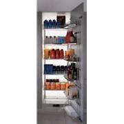 Выдвижные кухонные шкафы фото