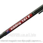 Маркер Edding 141F черный 0,6мм, для нанесения дорожек на плату. фото