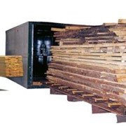 Две сушильные камеры древесины общим объёмом 110 м.куб б.у. фото