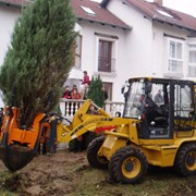 Машина для пересадки деревьев Optimal 880 фото