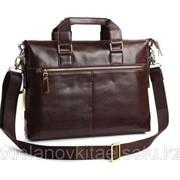 Мужской кожаный портфель M0020 фото