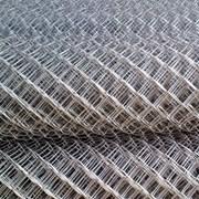 Сетка рабица плетёная оцинкованная 10х10 1.0 мм фото