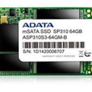 Твердотельный накопитель SSD mSATA A-Data ASP310S3-64GM-C фото