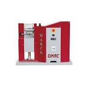 OMAC MARCK.Машина для горячего тиснения, подрезки и обжига кромок полос и ремней фото