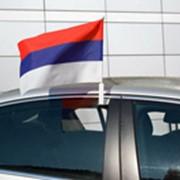Флаг на автомобиль фото