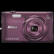 Фотоаппарат Nikon Coolpix S5300 фиолетовый фото