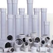 Трубы и фитинги из нПВХ для внутренней канализации фото