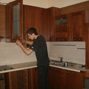 Демонтаж кухонного гарнитура фото