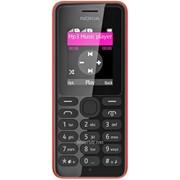 Мобильный телефон Nokia 108 Dual Sim Red (A00014562), код 99614 фото