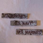 Нашивка: U.S. MARINES & U.S. NAVY фото