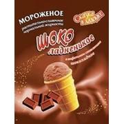 Мороженое растительно-сливочное Шоколадненькое фото