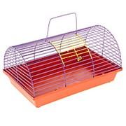 Клетка для грызунов полукруглая без этажа (металл) фото