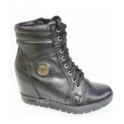 Зимние кожаные ботинки арт. 50206 фото