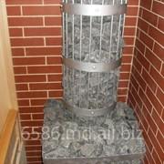 Печь - каменка для сауны. фото