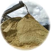 Крупнозернистый песок 0-5 мм мытый фото