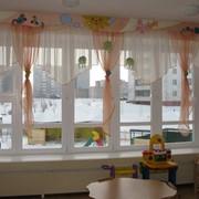 Шторы для детских садов фото