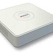 Гибридный видеорегистратор Hikvision HiWatch DS-H104G (4 аналоговых +1 IP) фото