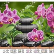 Бисерная заготовка Японский сад фото