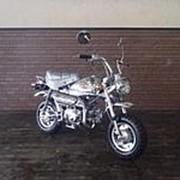Мопед мокик Honda Monkey Tokyo Limited рама Z50J гв 1981 задний багажник пробег 239 км серебристый фото