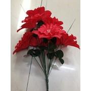 Цветы искусственные 8 бутонов нарцисов 0238A-1 фото