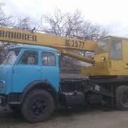 Аренда автокрана по Киевской области, Украина фото