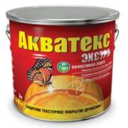 Защитно-декоративное покрытие для древесины АКВАТЕКС ЭКСТРА фото