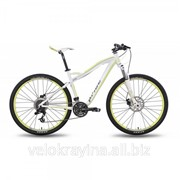 "Велосипед 27,5"" PRIDE XC-650 MD W бело-зеленый матовый SKD-52-06 фото"