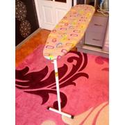 Гладильная доска из фанеры встроенная в шкаф купе 30см ширина и т-образная ножка фото