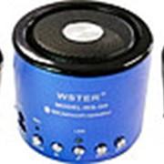 Колонка WSTER WS-Q9BT Bluetooth (Черный) фото