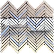 Мозаика зеркальная арт. SM74-2 фото
