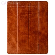 Чехлы Melcko Leather Case Slimme Cover Type Ver.4 Vin. Tradit. Brown for iPad 2 фото