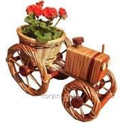 Цветочник для сада. Подставка для цветочных горшков фото